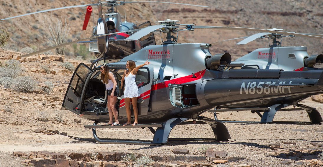 Helicopters Over Las Vegas and Grand Canyon